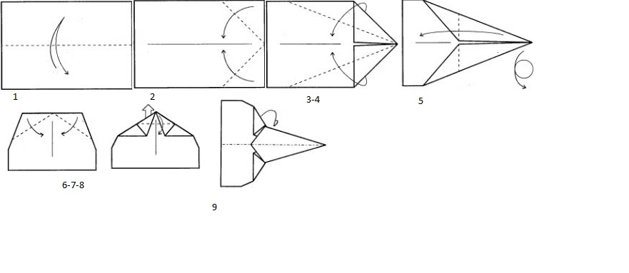 Как сделать из бумаги самолет который летает 100000 метров