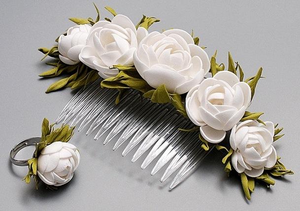 För att förverkliga hantverk och blommor från foyamiran kan du skapa ett  kundnätverk om du spelar in produktionsvalsar 3cf2ed35a3271