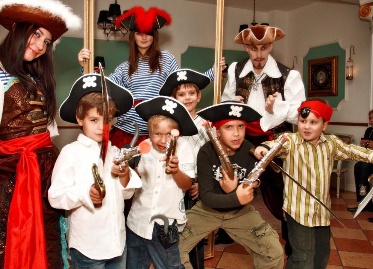 Вечеринка в стиле пиратов фото
