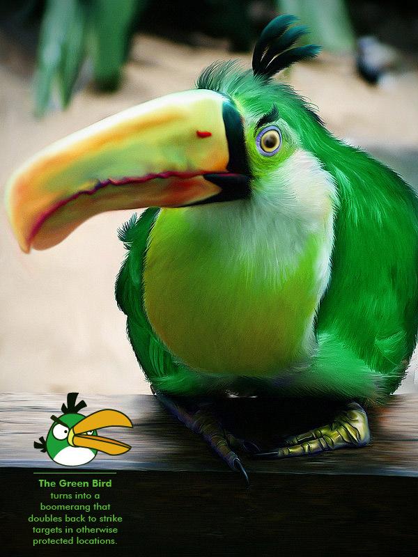 μεγάλο πουλί καταστρέφουν