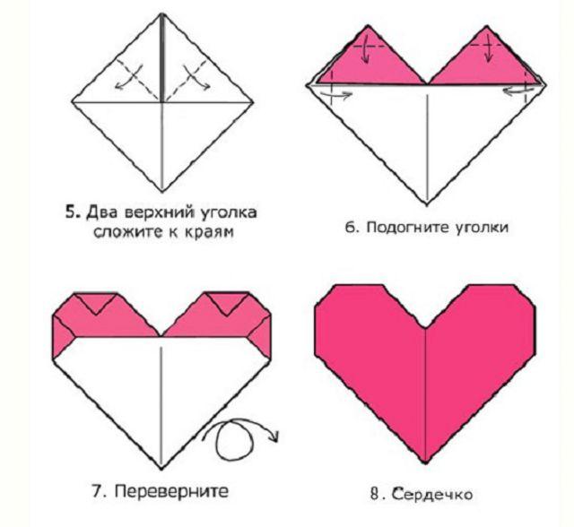 оригами открытка распечатать некоторое время